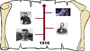 1916 grafika