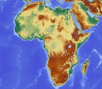 Afryka grafika