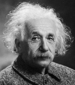 Albert Einstein grafika