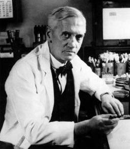 Alexander Fleming grafika