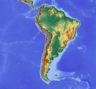 Ameryka Południowa grafika
