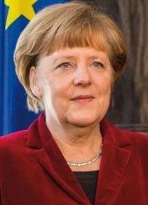 Angela Merkel grafika