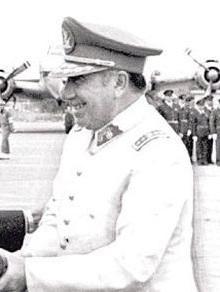 Augusto Pinochet grafika