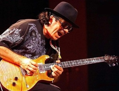 Carlos Santana grafika