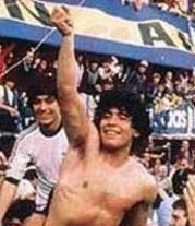 Diego Maradona grafika