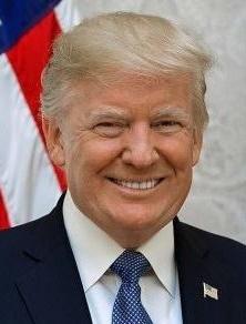 Donald Trump grafika