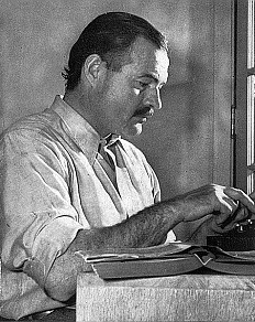 Ernest Hemingway grafika