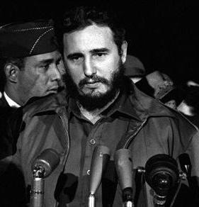 Fidel Castro grafika