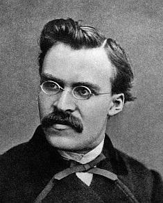 Fryderyk Nietzsche grafika