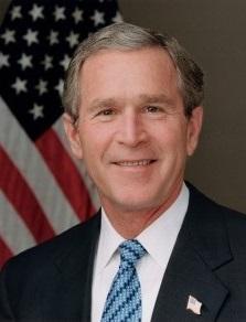 George Walker Bush grafika