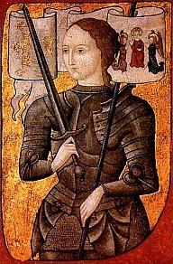 Joanna d'Arc grafika