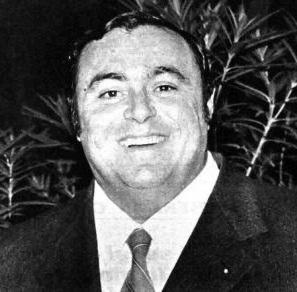 Lucio Pavarotti grafika