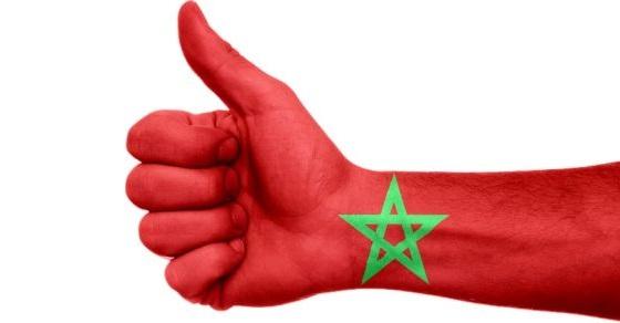 Reprezentacja Maroka grafika