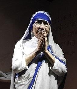 Matka Teresa grafika