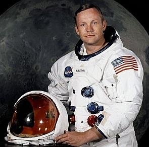 Neil Armstrong grafika
