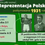 Historia reprezentacji Polski w piłce nożnej – 1931 rok